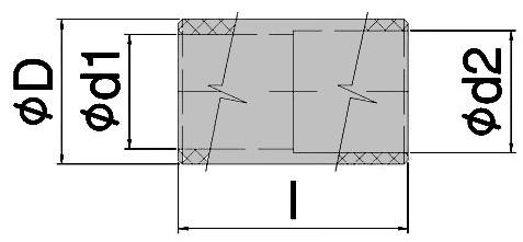 Teflon coupler
